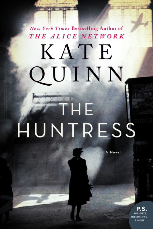 Nazi hunters, The Huntress a novel by Kate Quinn, reviewed by Bev Scott Author